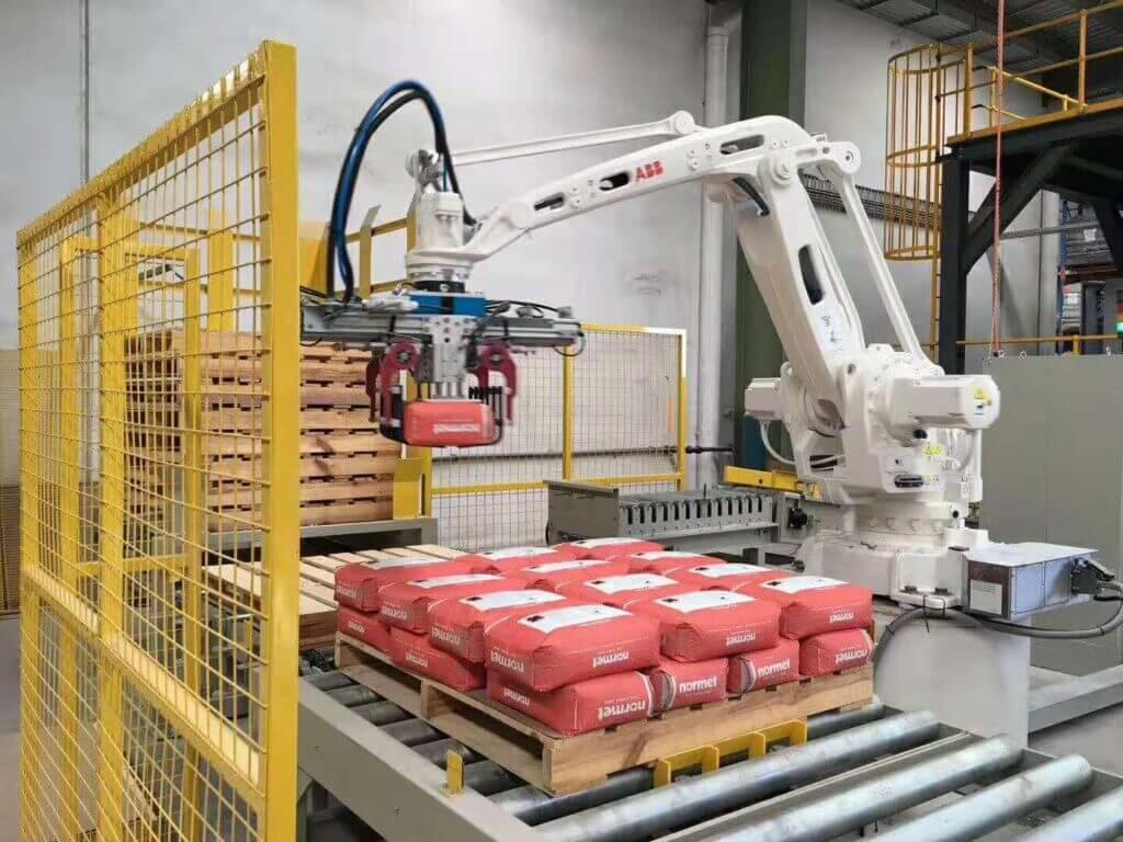 Automatic Robot Palletizing Application